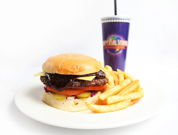 Big Momma's Burger at Mel's Drive-In at USS