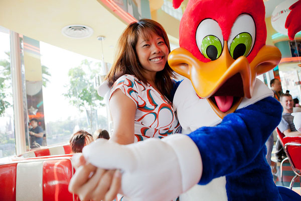 RWS Invites Breakfast with the Stars at Mel's Drive-In