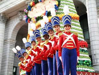 Santa's Toy Soldiers welcome you to USS in December