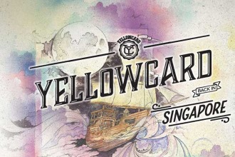 Yellowcard Live in Singapore