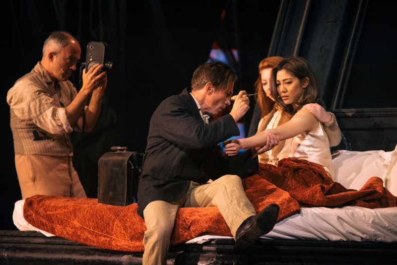 (Right) Narelle Kheng as Lucy in Dracula.