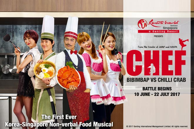 CHEF: Bibimbap vs Chilli Crab