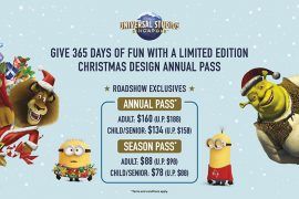 USS Annual/Season Pass Christmas Roadshows 2018