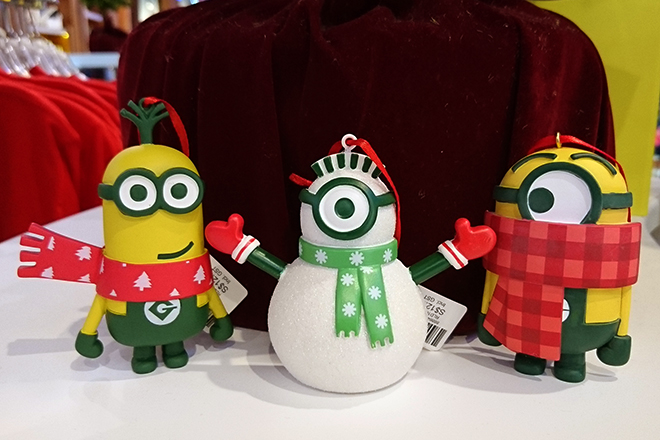 uss christmas minion gift